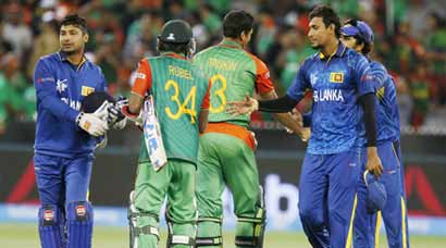 Bangladesh no match for mighty Lankans