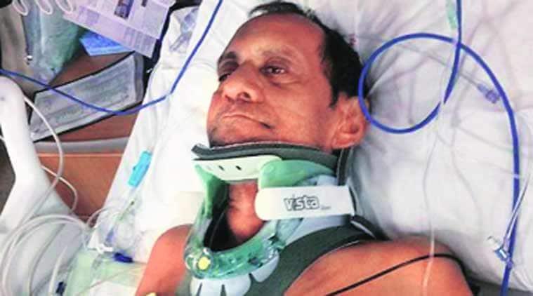 Suresh suffered fused vertebrae in the assault.(Picture courtesy: al.com)