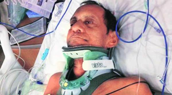 Suresh suffered fused vertebrae in the assault.(Picture courtesy: al.com)