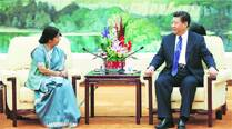 APEC doors open for India, President Xi, Sushma Swaraj discuss progress in ties