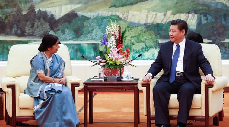 Narendra Modi, Sushma Swaraj, Xi Jinping, India China ties, Sushma Swaraj China visit, Indo china relations China
