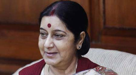 Sushma Swaraj embarks on five-day visit to Indonesia