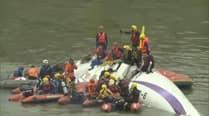 Pilot's body found still clutching joystick of crashed Taiwan plane:Media