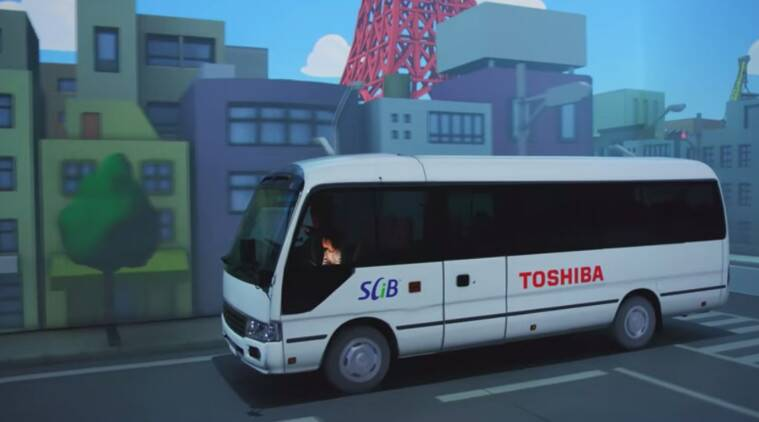 Toshiba, IOT, clean energy, ozone generator, Toshiba electric bus