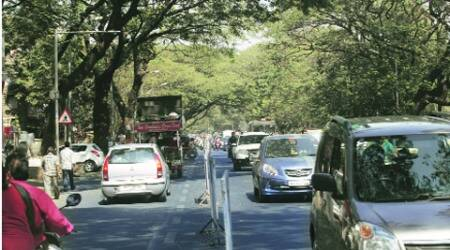 Four-hour gridlock on National Highway8