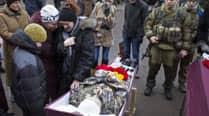 Pro-Russian rebels, Ukrainian forces agree on humanitariancorridor
