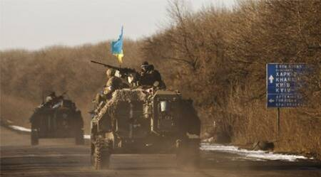 Troops loose Debaltseve to Ukraine rebels