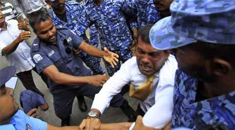 Maldives Mohamed Nasheed, Mohamed Nasheed Maldives, Maldives Nasheed arrest, Nasheed, Maldives, Mohamed Nasheed, Abdulla Yameen government, Maldives Democratic Party, Progressive Party of Maldives, Gayoom family coup, Maldives news