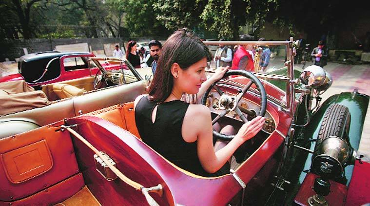 Around 200 vintage cars and 50 motorcycles will turn out for the 21 Gun Salute International Vintage Car Rally on Saturday. (Source: Express Photo by Praveen Khanna)