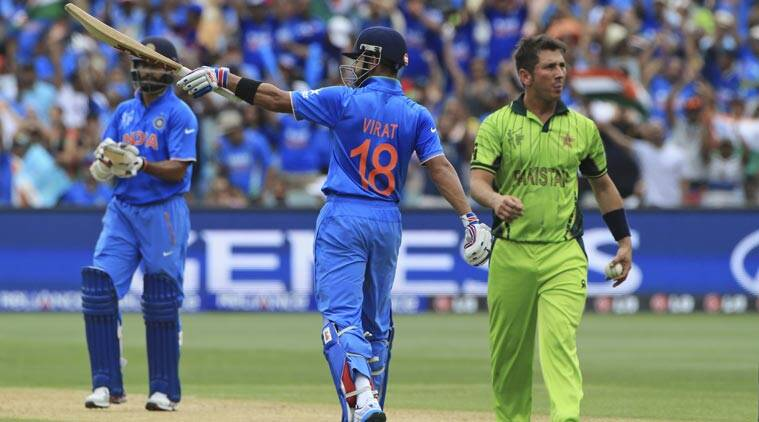 India vs Pakistan, Pakistan vs India, Ind vs Pak, Pak vs Ind, Virat Kohli, Kohli, Mahendra Singh Dhoni, Dhoni, MS Dhoni, Kohli vs Pakistan, Cricket World Cup 2015, World Cup 2015, ICC Cricket world Cup 2015, Misbah-ul-Haq, World Cup Live, World Cup results, Sports, Cricket, Sports news, Cricket News