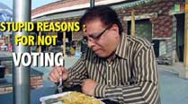 Watch video: Stupid reasons for notvoting