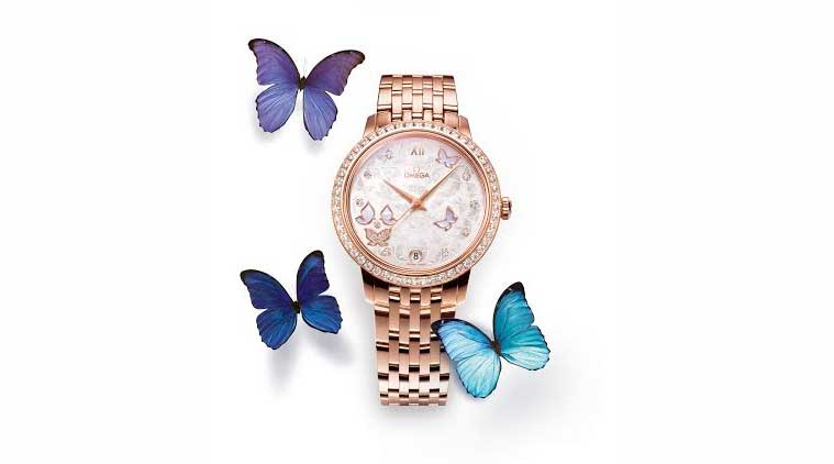 Look! There's a butterfly on your wrist