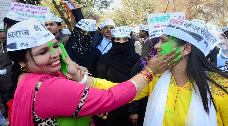 women MLAs, aam aadmi party, delhi results, delhi elections