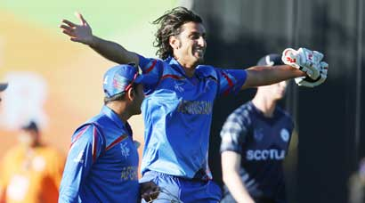Afghans snatch first World Cup win