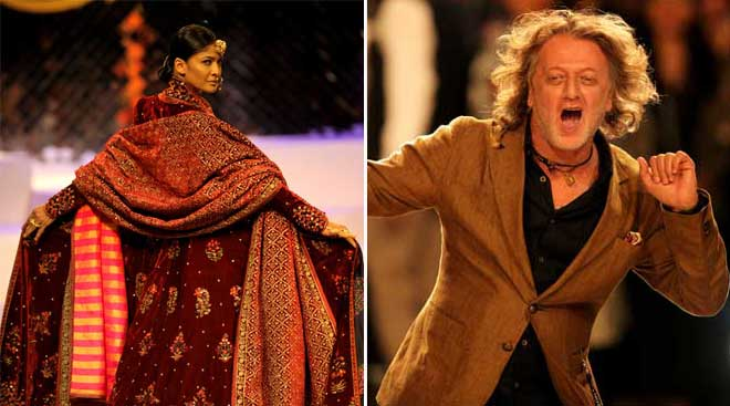 "AIFW grand finale: 25 designers showcase the spectacular ""Crafts of India"""