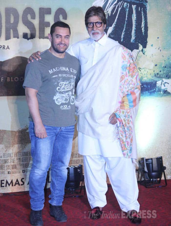 Amitabh Bachchan, Aamir Khan