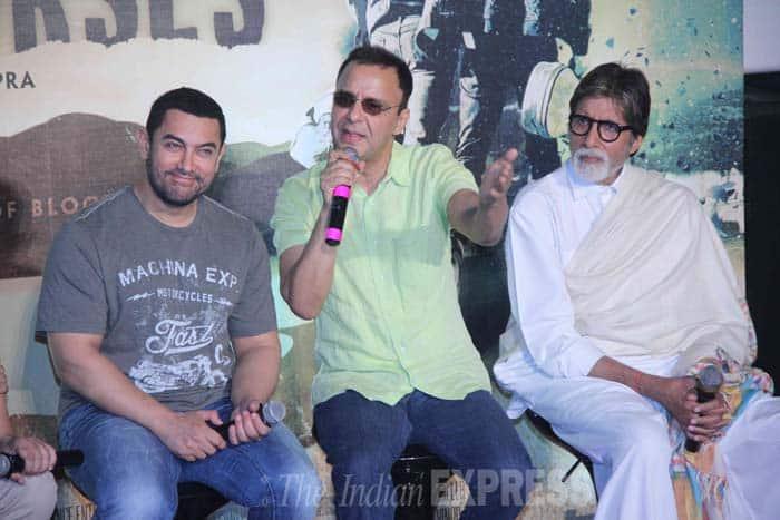 Aamir Khan, Vidhu Vinod Chopra