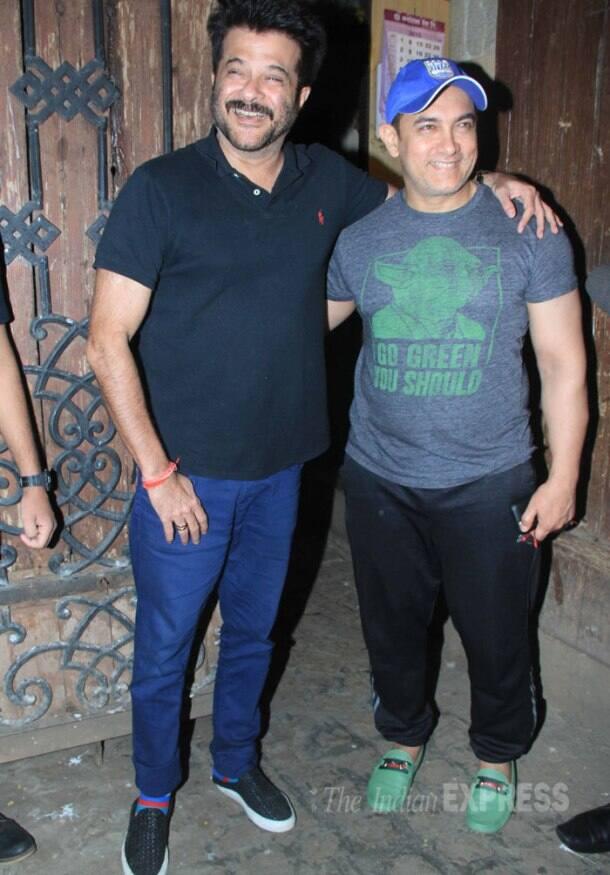 Anil Kapoor, Aamir Khan