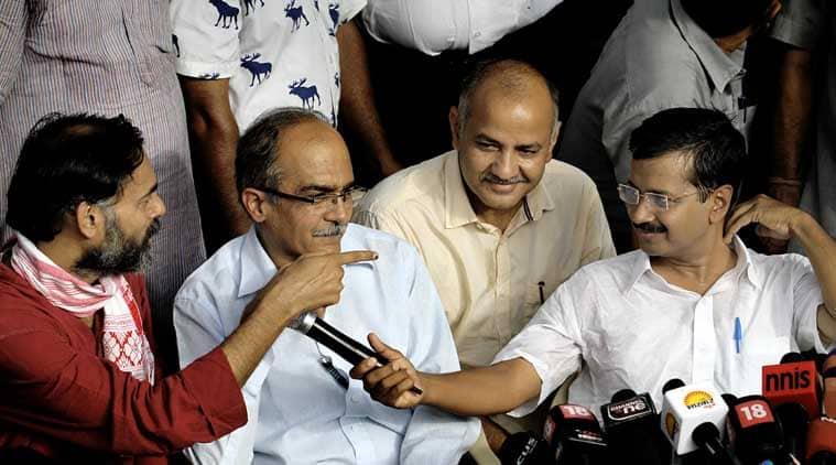 arvind kejriwal, kejriwal news, yogendra yadav, AAP, AAP news, prashant bhushan, AAP rift