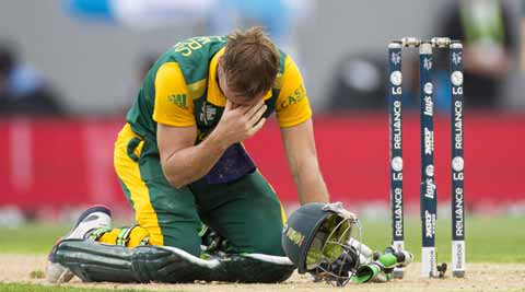 South Africa's World Cup dream is over