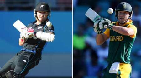 New Zealand vs South Africa, South Africa vs New Zealand, NZ vs SA, SA vs NZ, World Cup 2015, Cricket World Cup 2015, World Cup 2015 semi-final, AB de Villiers, Brendon McCullum, Cricket News, Cricket