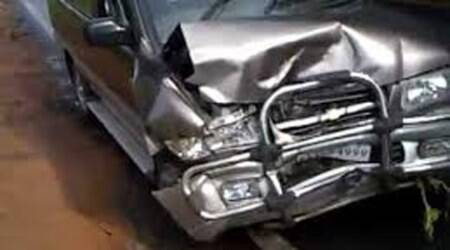 Eight minor boys injured in car accident