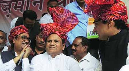 Ahmed Patel, seen and heard like never before