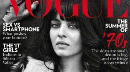 Look who's back: Aishwarya Rai Bachchan covers Vogue India