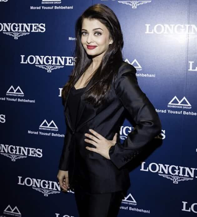 Aishwarya Rai Bachchan, Aishwarya Rai Bachchan black, Aishwarya Raui Bachchan Kuwait Longines