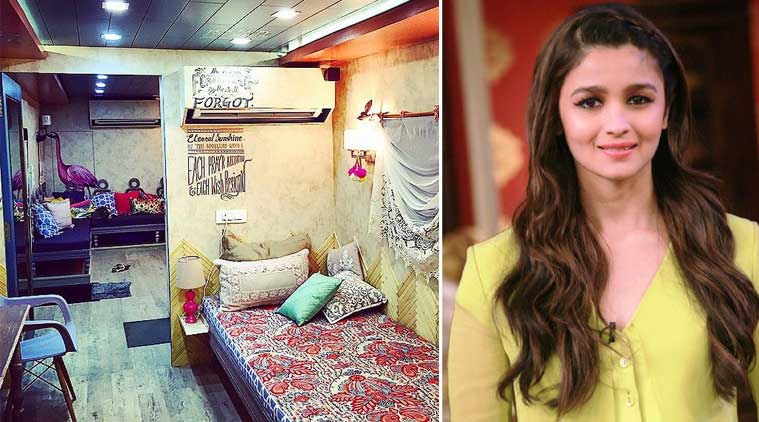 Sneak peek at alia bhatt s second home the indian express for At home pics