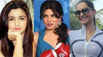 PHOTOS - Alia Bhatt, Priyanka Chopra, Sonam Kapoor: Actresses are such 'sports'
