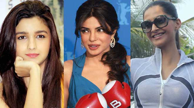 Alia Bhatt, Priyanka Chopra, Sonam Kapoor: Actresses are such 'sports'