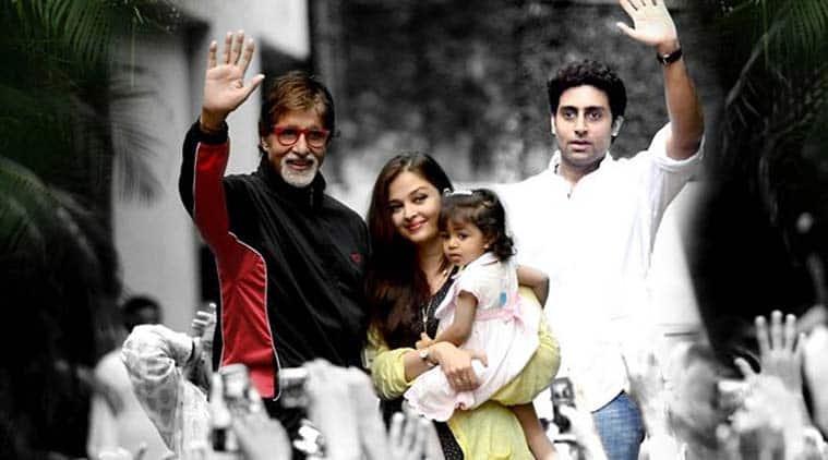 Amitabh Bachchan, Aaradhya Bachchan, Abhishek Bachchan
