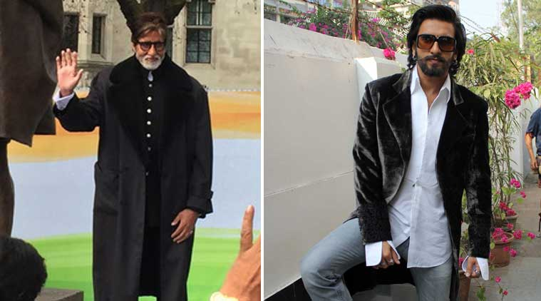 """""""Amitabh Bachchan has had a serious great influence on Indian pop culture and on me. He is an icon, a living legend in the truest sense,"""" said Ranveer."""