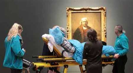 Dying wish comes true: Dutch woman with ALS sees Rembrandts
