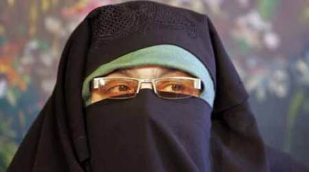 Aasiya Andrabi arrested, Pakistan flag