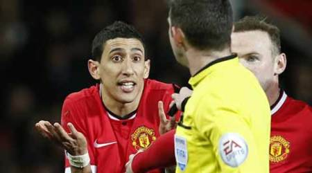 Manchester United vs Arsenal, Arsenal vs Manchester United, Man Utd vs Arsenal, Arsenal vs Man Utd, Manchester United, Arsenal, Louis Van Gaal, Van Gaal, Angel Di Maria, Di Maria, Di Maria Dive, Di Maria Red card, Sports, Football, Sports news, Football news