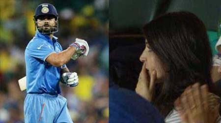 Anushka Sharma faces twitterati's ire as Virat Kohli fails in semi-final against Australia at SCG