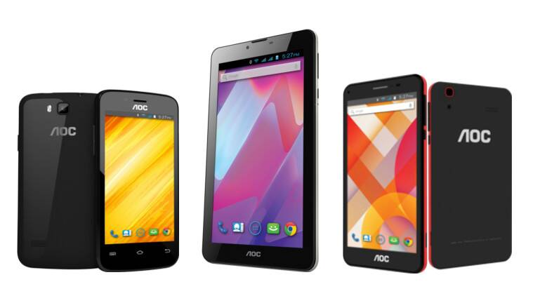 AOC, AOC India, AOC mobile, AOC tablet