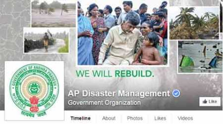AP's disaster management through Facebook during Hudhud cited as best practice