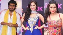 PHOTOS - Arjun Kapoor celebrates early Holi with Elli Avram, Shraddha Arya