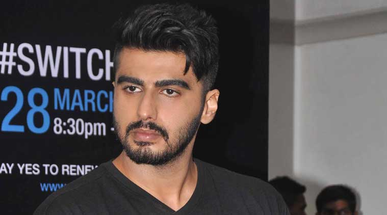 Arjun Kapoor Debuts New Hair Do Entertainment News The Indian Express