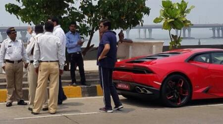Arnab puts brakes on speeding Lamborghini