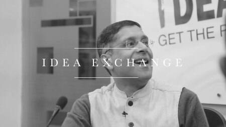 The logic for increasing the service tax rate is the move towards GST: Arvind Subramanian