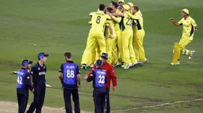 Australia take New Zealand and World Cup bystorm
