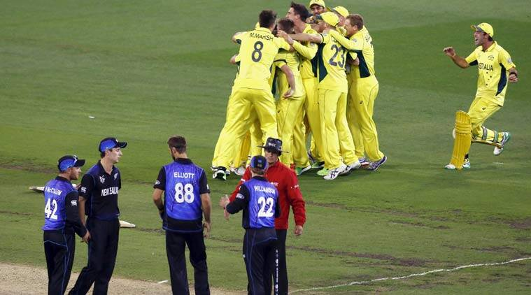 Australia take New Zealand, World Cup by storm