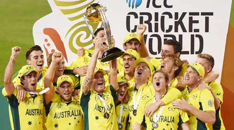 Australia beat New Zealand, lift World Cup title for fifthtime