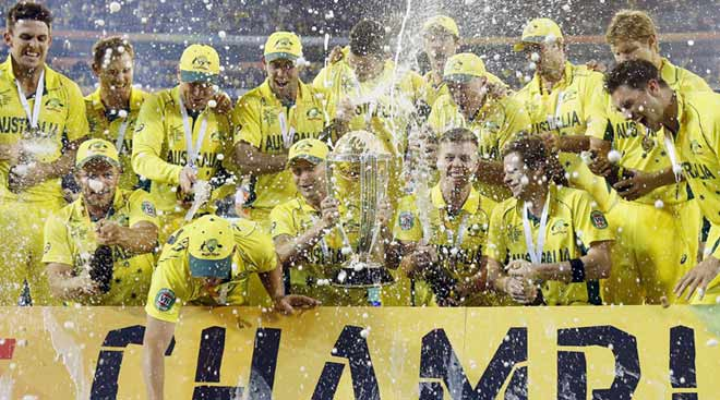 Australia's golden moment, for the 5th time
