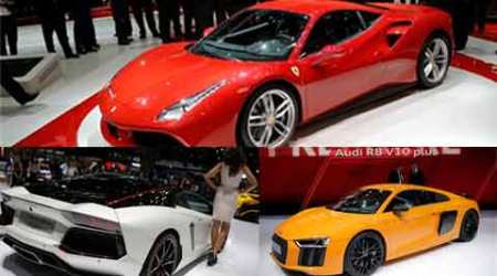 5 stunners from the Geneva carshow