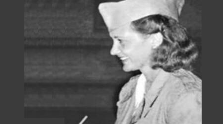 "US spy girl ""Betty"" turns 100, was stationed in India during WWII"